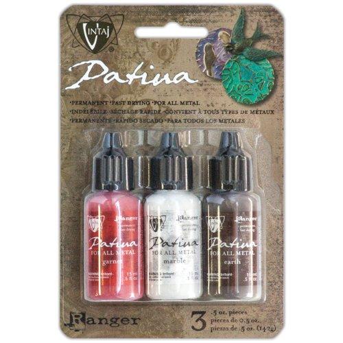 (Vintaj Patina Painted Barn Kit - Garnet, Marble &)