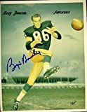 BOYD DOWLER PACKERS SIGNED 8X10 PHOTO JSA AUTOGRAPH