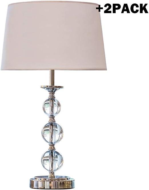 Petites lampes de chevet, ensemble de 2 lampes de table pour