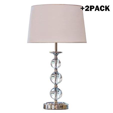 Luz Nocturna/Lámpara de Mesa Dormitorio Cristal de la lámpara de ...