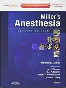 Miller anesthesia 7th pdf