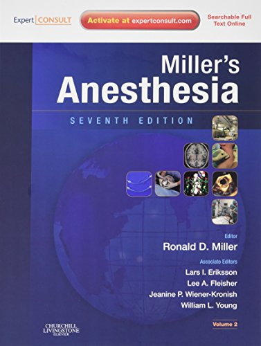 Miller's Anesthesia 2 volume set: Expert Consult - Online and Print, 7e (Anesthesia (Miller))