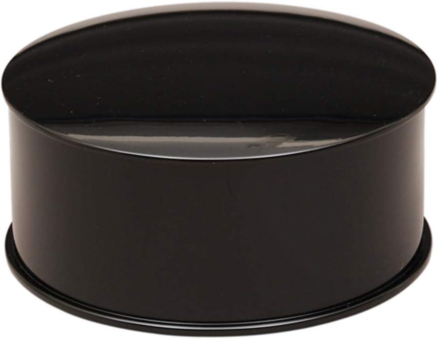 中村宗悦(Nakamura Souetsu) 懐石道具 黒 サイズ:直径23.4x高さ11.4cm 飯器 (木製) 化粧箱入