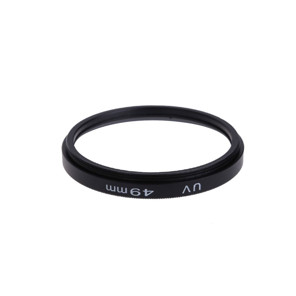 Awakingdemi 49mm UV Protection Filter Lens,49mm Universal UV Ultraviolet Lens Protection Filter for Multiple Camera