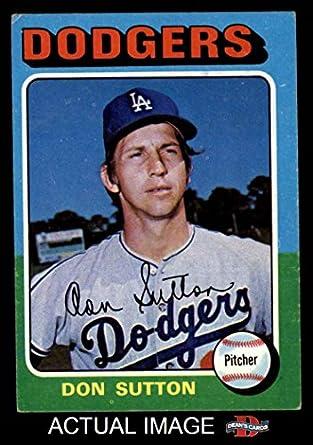 Amazon.com: 1975 Topps # 220 Don Sutton Los Angeles