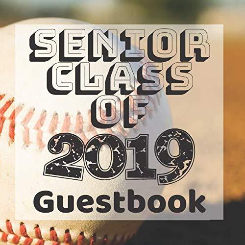 Senior Class of 2019 Guestbook: Baseball Sports Fan Jock Graduation Party Guest Sign In Book Registry|Graduate Parties Supplies|Keepsake ... Address|University College High School -