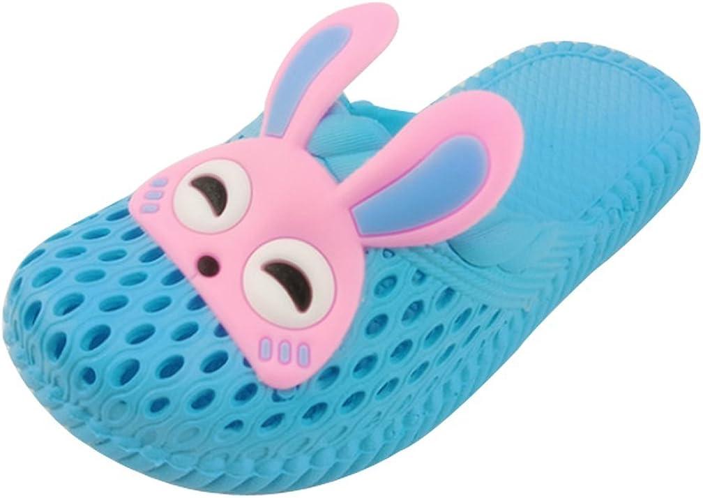 Cattior Summer Animal Open Toe Slippers Beach Shower Slippers Kids Cute Bath Slippers