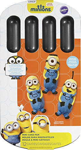 Wilton 2105-4619 Despicable Me Minions Cake Pan, Metallic -