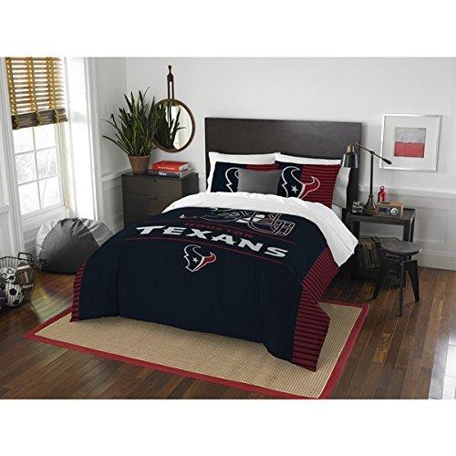 "NFL Houston Texans ""Draft"" Full/Queen Bedding Comforter Set"