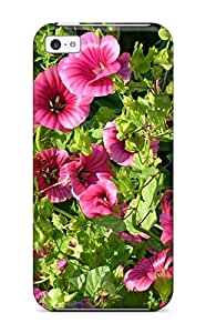 New Diy Design Summer Flowers For Iphone 5c Cases Comfortable For Lovers And Friends For Christmas Gifts