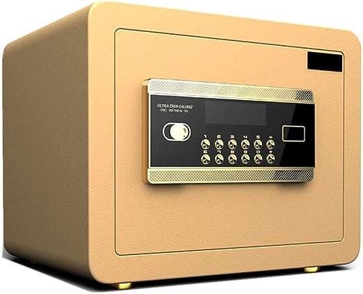 ZSAIMD Acero Caja Segura Gabinete Caja de Seguridad electrónica ...