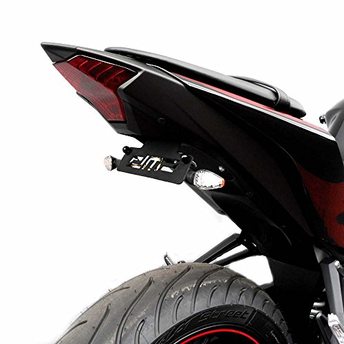 2015-2018 Yamaha YZF-R3 Fender Eliminator Kit; Includes Turn Signals and Plate Lights - 675-6120 - MADE IN THE USA