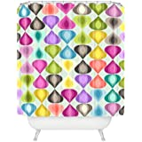 "Deny Designs Sharon Turner Candy Gouttelette Shower Curtain, 69"" x 72"""