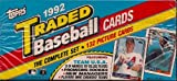 1992 Topps Baseball Traded Set Factory Sealed Complete 132 Cards