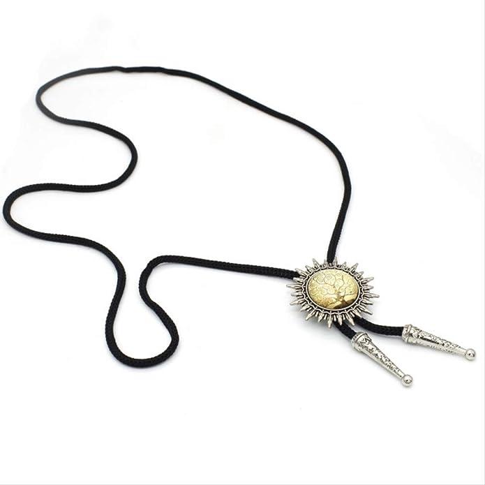 VAWAA Trinacria siciliana Vintage en Oro Bolo Tie Steam Punk ...