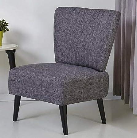 Amazon.com: Hebel Fontana Armless Accent Chair | Model ...