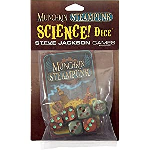 Steve Jackson Games Munchkin Steampunk Science Dice
