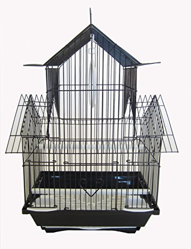 YML A1144BLK Pagoda Top Cage, Small