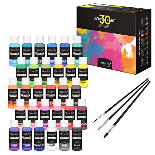Magicfly 30 Colors Acrylic