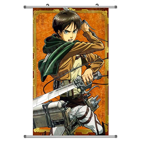 A Wide Variety of Attack on Titan Anime Wall Scroll Hanging