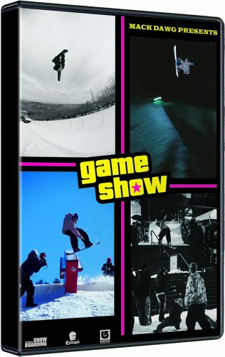 Ally Distribution Game Show Mack Dawg Snowboard Dvd