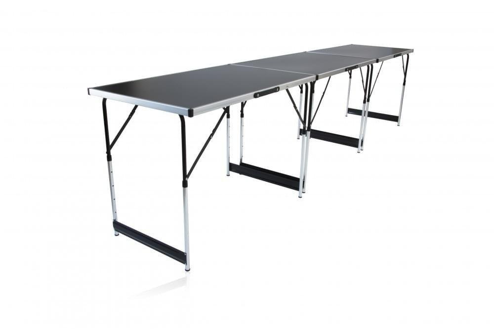 Tavoli a Trapezio Tavolo da Lavoro Pieghevole Tavolo da Festa Multifunzione 1tlg nessuno Staffa di montaggio