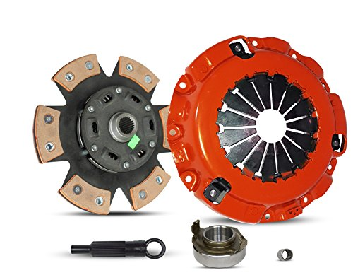 Clutch Kit Works With Mazda Rx-8 Grand Touring Gt R3 Sport 40th Anniversary Edition Base Shinka 2004-2011 1.3L R2 GAS Naturally Aspirated (Rotary 13B-Msp 6 Speed; 6-Puck Disc Stage 3) (3l Exedy Clutch)