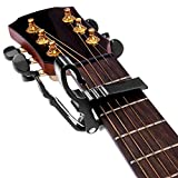 Neewer Folk Acoustic Electric Guitar Key Trigger Change Capo Clamp Black