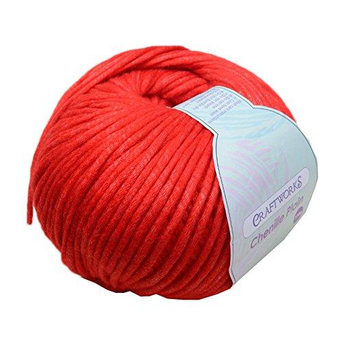 かぎ針編み用手編みソフト糸、#19
