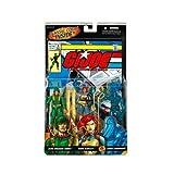: G. I. JOE Hasbro A Real American Hero 3 3/4 Series 2 Action Figure 3Pack Scarlett, Breaker Cobra Commander
