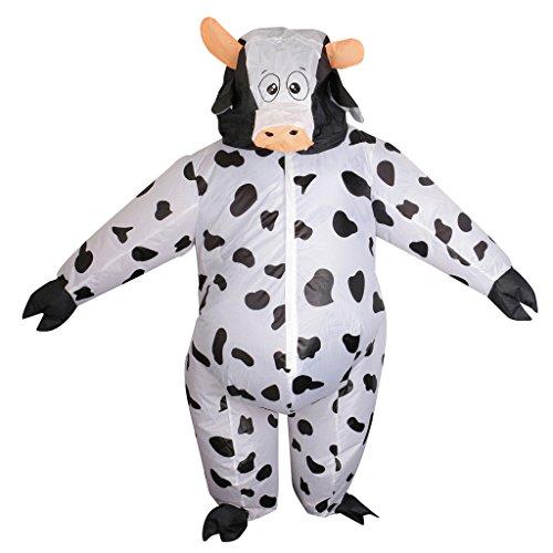 Jili Online Inflatable Cow Costume Fancy Dress Unisex Adult Cosplay Party Prop Sumo Suit - Fancy Dress Costumes Online