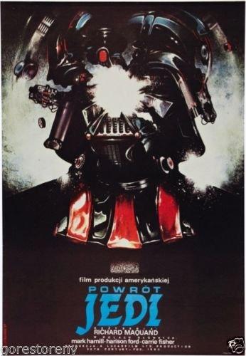 "Star Wars Polish Movie Poster 24""x36"""