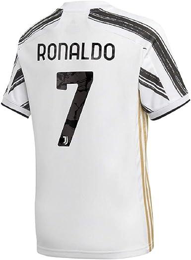 Soccer Kingdom Unlimited Ronaldo #7 Juve Home Kids Jersey 20-21