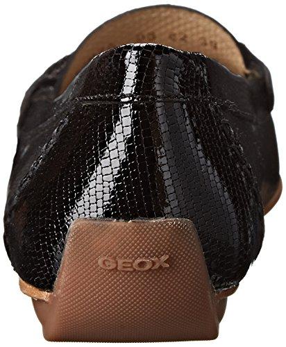 Geox A Italy Femme D Noir black Mocassins RwwACP0qp