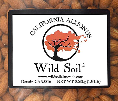 Wild Soil Almonds - Distinct and Superior to Organic, Steam Pasteurized, Probiotic, Raw 1.5LB Bag by Wild Soil (Image #3)