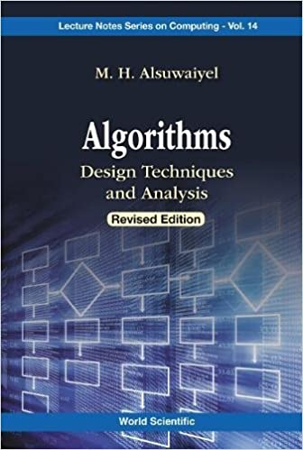 Algorithms design techniques and analysis lecture notes series on algorithms design techniques and analysis lecture notes series on computing revised edition edition fandeluxe Gallery