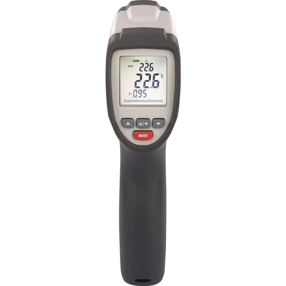 Werks VOLTCRAFT IR 650-16D Infrarot-Thermometer Optik 16:1-40 Fino a 650/°C Pyrometer Kalibriert Nach