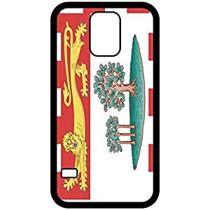 Prince Edward Island Flag Black Samsung Galaxy S5 Cell Phone Case - Cover