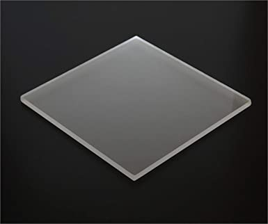 Amazon Com 1 8 0 118 Frosted Matte Acrylic Sheet 12 X12 Cast Plexiglass 3mm Thick Nominal Size Azm Industrial Scientific