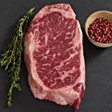 Wagyu Beef New York Strip Steak - Marble Grade 8 - Whole, Cut To Order - 11 lbs cut to 1-inch steaks