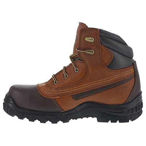 Iron Age Mens Ia5500 Backstop Industrial & Construction Shoe Brown