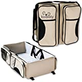 Koalaty 3-in-1 Universal Infant Travel Tote: Portable...