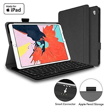 b89033ed9bc Mangotek iPad Pro Keyboard Case, 10.5 inch iPad Pro Air Wireless Smart  Connector Keyboard.