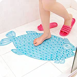 non slip bathroom floor mats x amp w fish bathroom floor mat shower with sucker 23855