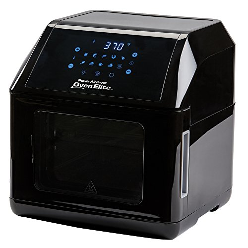 6 QT Power Air Fryer Oven Elite - 10 In 1 Cooking Features with Professional Dehydrator and Rotisserie