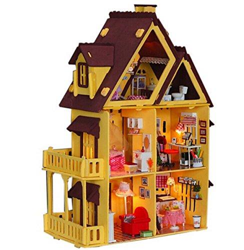wood barbie house - 8