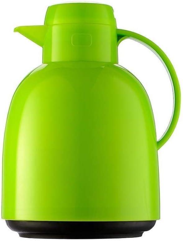 絶縁材の鍋、電気やかんの魔法瓶のフラスコ1.5 Lのための大容量のティーポット (Color : Green, Size : A)