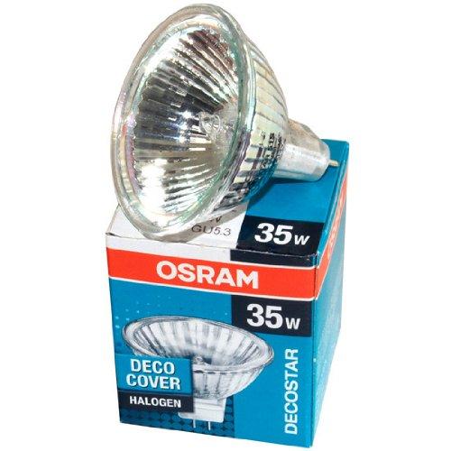 Osram 44892 Decostar 35 35w 12v 36° Gu4 Bi Pin 2900K Halogen Bulb MR11 with UV - Bi 35w Gu4 Pin Mr11