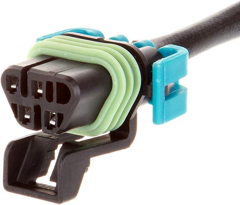 ZENITHIKE SG272 SG1066 upstream and downstream O2 Sensor A//F sensor Compatible for 2002 C-adillac Escalade EXT 6.0L 2000 G-MC C2500 C3500 K2500 7.4L 2000 C-hevrolet C2500 C3500 K2500 K3500 7.4L
