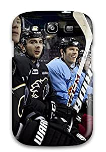 Tpu Fashionable Design Calgary Flames (13) Rugged Case Cover For Galaxy S3 New